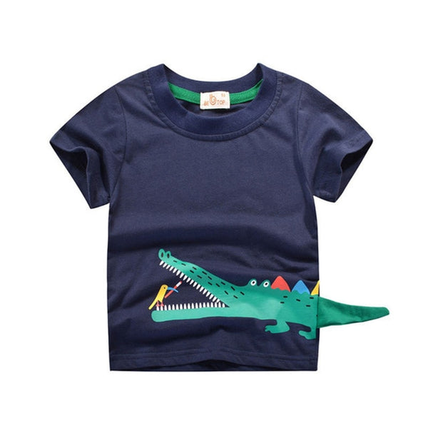 Dinosaur Tail Boys T Shirt