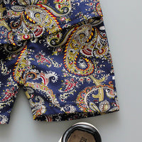 Vintage Rose Boys Shorts Set