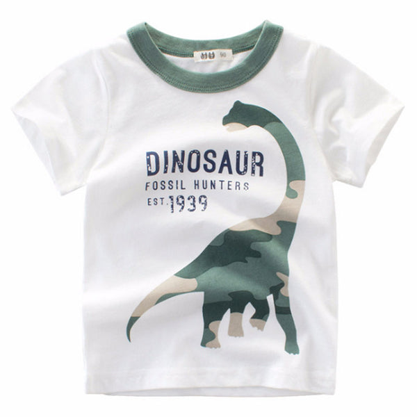 Dinosaur T-shirt 1-8 Years