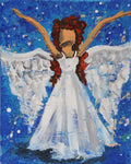 The Angel Mixed Media Paint & Sip Kit