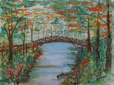 Autumn in the Park PaintlyFun Fall Gift Card