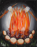 Campfire Dreams Acrylic Paint and Sip Kit