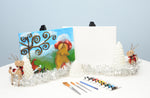 Gnome Sweet Home Acrylic Paint & Sip Kit