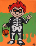 Halloween Hal Acrylic Paint and Sip Kit