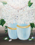 Heartfelt Hydrangea Duo Paint & Sip Kits