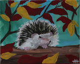 Henry the Hedgehog PaintlyFun Fall Gift Card