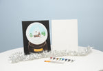 Home Away From Home Snowglobe Paint & Sip Kit
