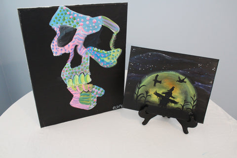 """Scary Glow"" Duo Set - Paint & Sip Kits"