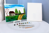 Cottage Down the Lane Paint & Sip Kit