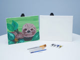 Little Zofia Sloth Acrylic Painting Kit & Video Lesson