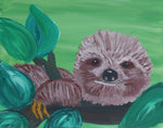 Little Zofia Sloth Paint & Sip Party Kit