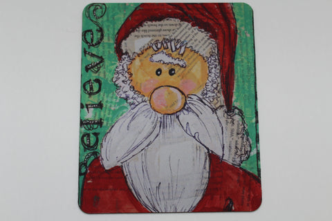 Santa Is Coming - Mouse Pad