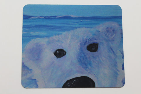 Beary Good Selfie - Mouse Pad