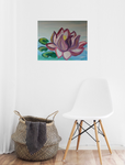 Floating Lotus Acrylic Painting Kit & Lesson