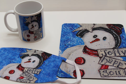 Jolly Snowman - Set