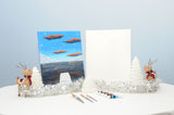 Snowy Winter Bay Acrylic Painting Kit & Video Lesson