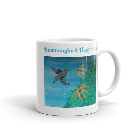 Hummingbird Happiness Coffee Mug