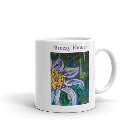 Breezy Flower Coffee Mug