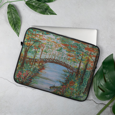Autumn in the Park Laptop Sleeve