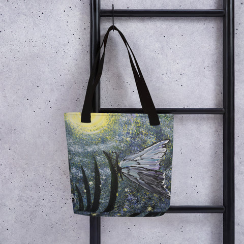 Butterfly Tranquility Tote Bag