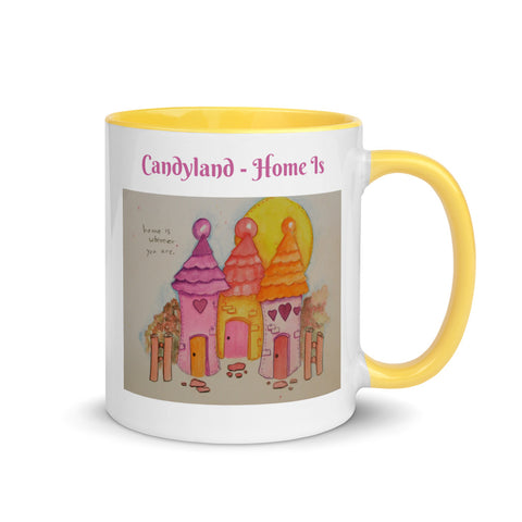 Candyland Home Is Coffee Mug