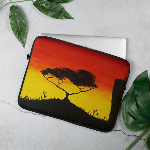 African Savannah Laptop Sleeve