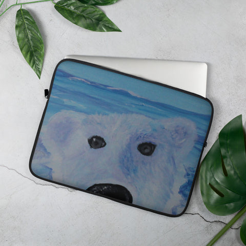 Beary Good Selfie Laptop Sleeve
