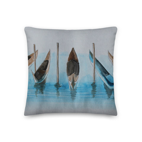 Gondola Row Premium Pillow
