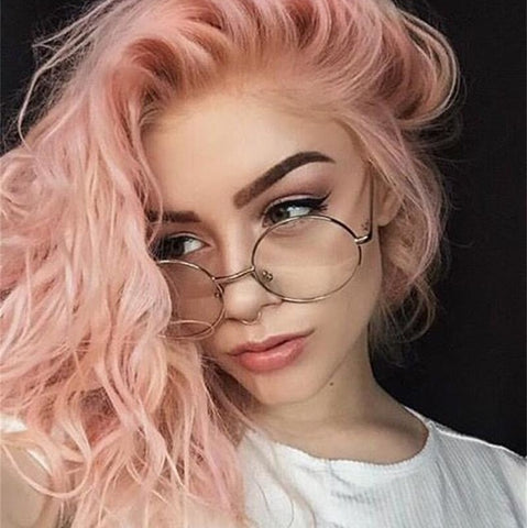 2018 Classic Clear Round Glasses for Women
