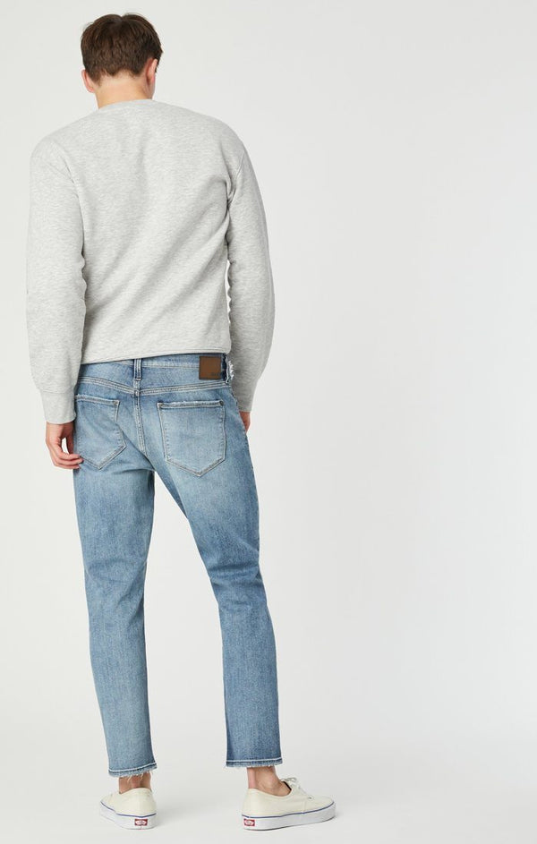 Jake Slim Skinny Jeans in Foggy Ripped Authentic Vintage - Mavi Jeans