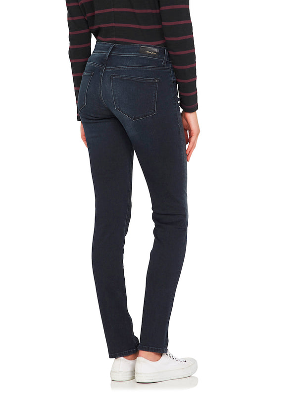 Sophie Mid Rise Skinny Ink Used Gold Lux Move - Mavi Jeans