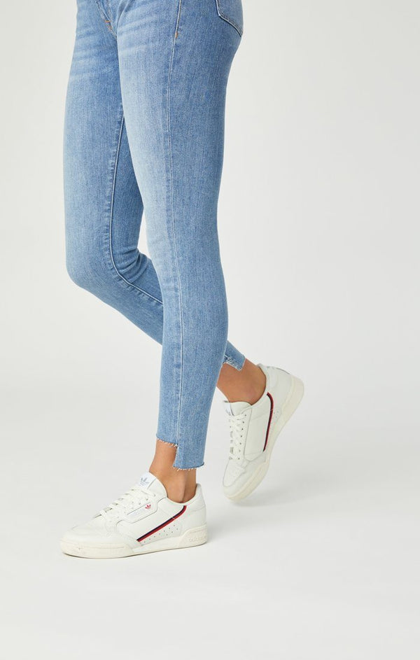 Adriana Ankle Skinny Jeans in Light Foggy Vintage - Mavi Jeans
