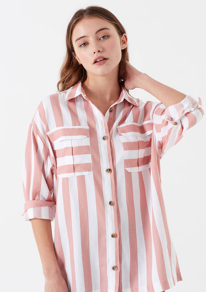 Womens Striped Shirt