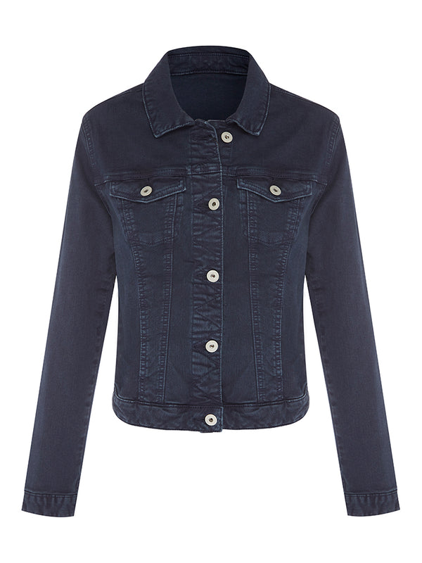 Daphne Denim Jacket Ink Wash - Mavi Jeans