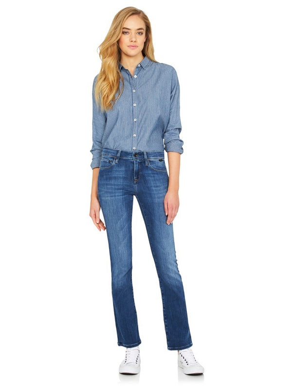Kerry Mid Rise Slim Straight Mid Gold Tencel DREAM FIT - Mavi Jeans