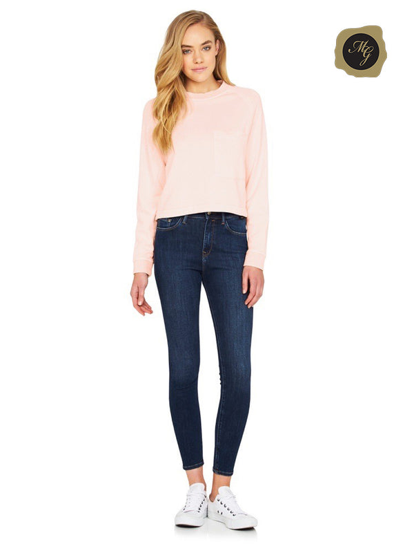 LUCY High Rise Super Skinny Deep Used Gold Lux Move - Mavi Jeans