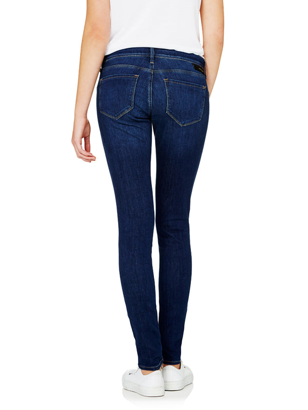REINA Low Rise Skinny Maternity Dark Indigo Feather - Mavi Jeans