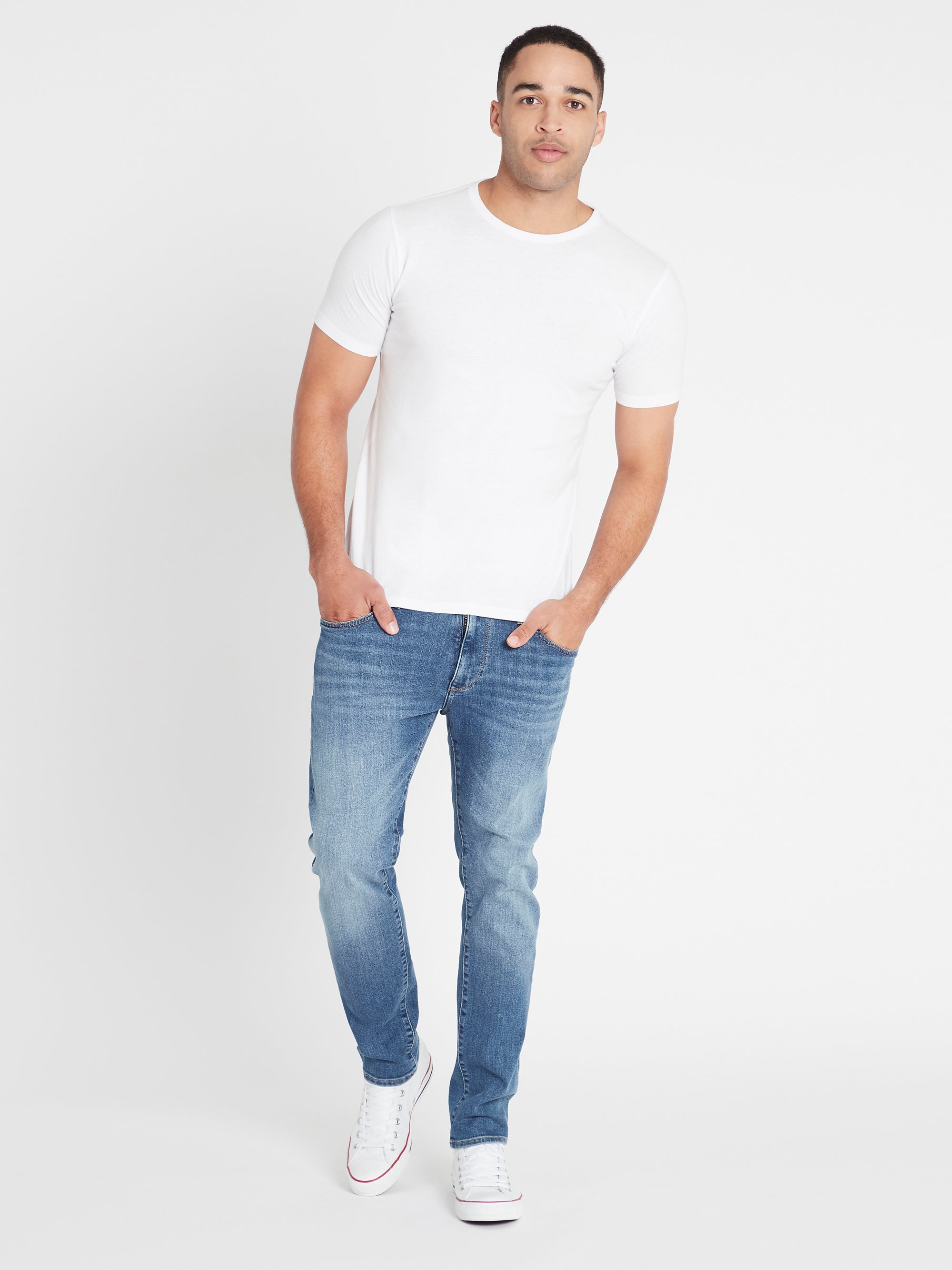 James Skinny Jeans in Light Indigo Mavi