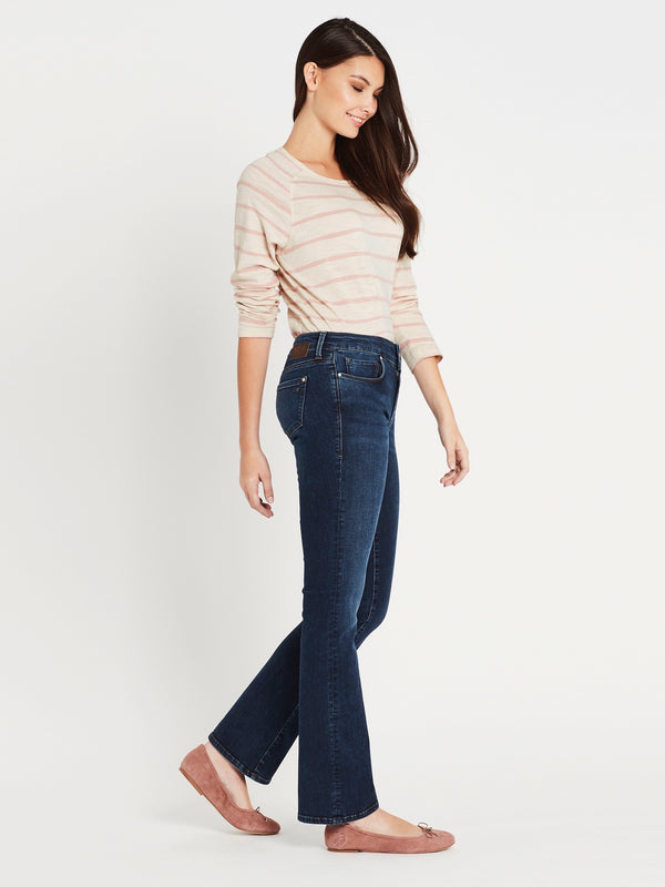 Bella Slim Bootcut in Dark Tribeca - Mavi Jeans