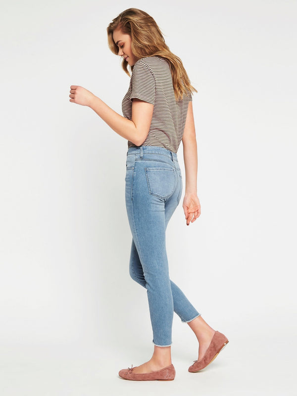 Tess Twisted High Rise Super Skinny Ankle Vintage Blue Denim - Mavi Jeans