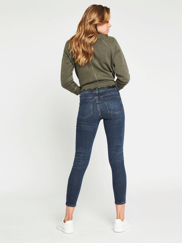 Alissa Ankle Skinny in Deep Gold Lux Move - Mavi Jeans