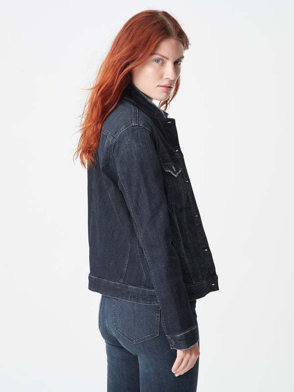 Katy Denim Jacket in Smokey Deep Tribeca - Mavi Jeans