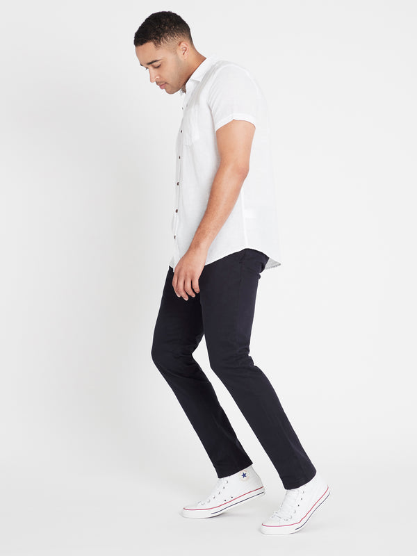 Jake Slim Chino Dark Navy Twill - Mavi Jeans
