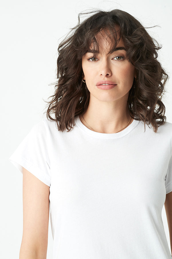 Reagan T-Shirt in White - Mavi Jeans