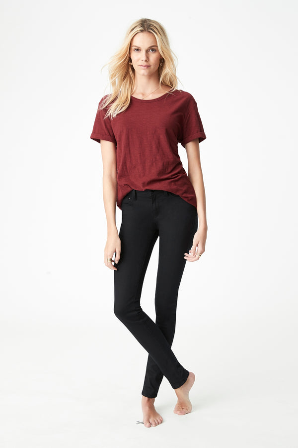 Alexa Skinny Jeans in Double Black Gold Reform - Mavi Jeans