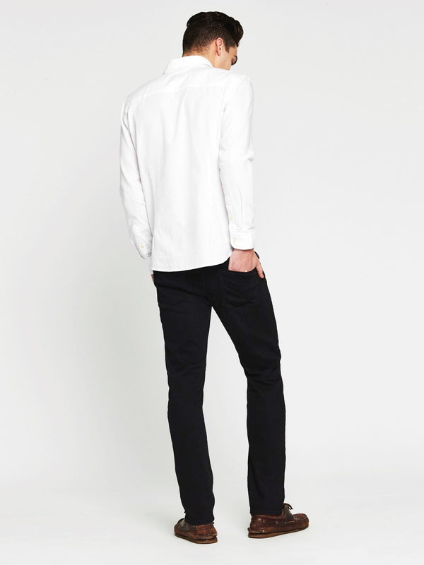 Marcus Slim in Smoke Mavi Black - Mavi Jeans