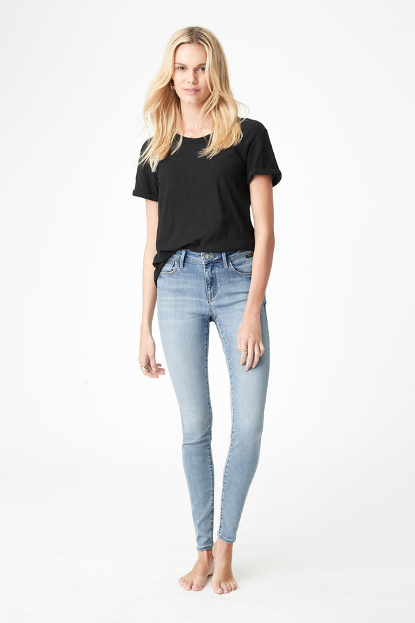 Alissa Skinny Jeans in Light Foggy Supersoft - Mavi Jeans