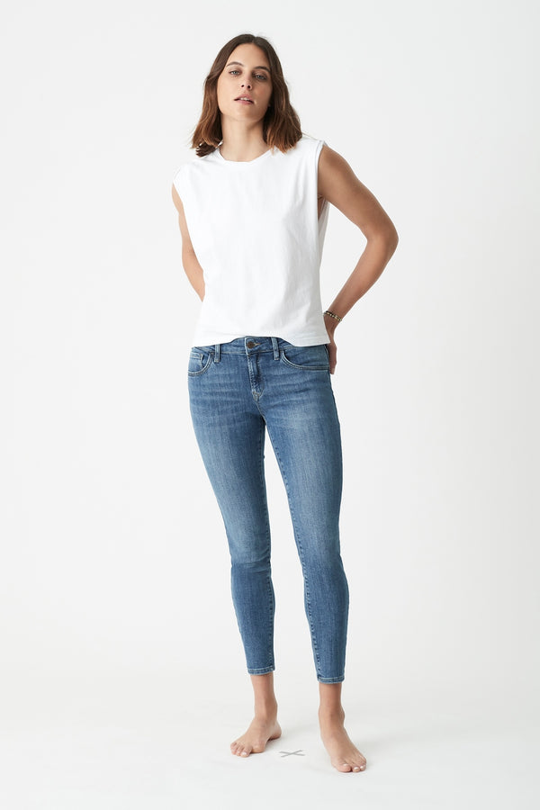 Adriana Ankle Skinny Jeans in Used Stretch - Mavi Jeans