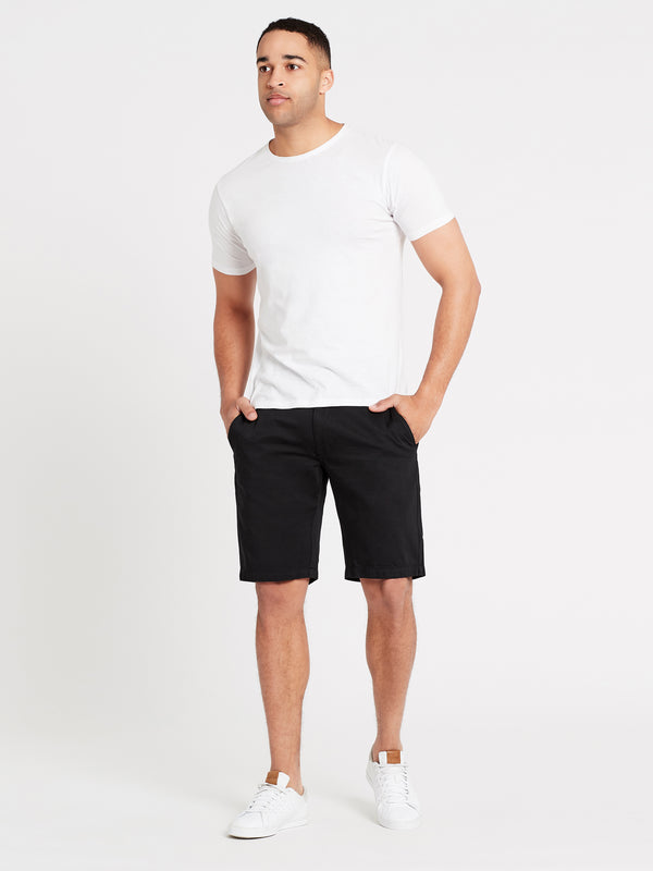 Mens Shorts in Black - Mavi Jeans