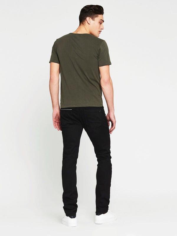 Jake Skinny in Smoke Mavi Black - Mavi Jeans